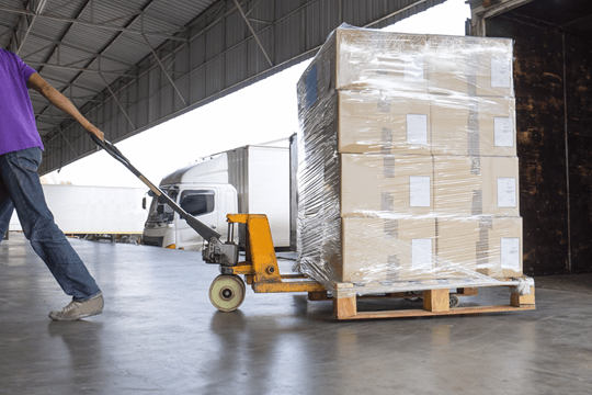 RFID to automate tracking of shipments through dock doors