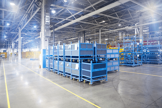 Automotive Supplier Automate Tracking of Returnable Transport Items (RTIs)
